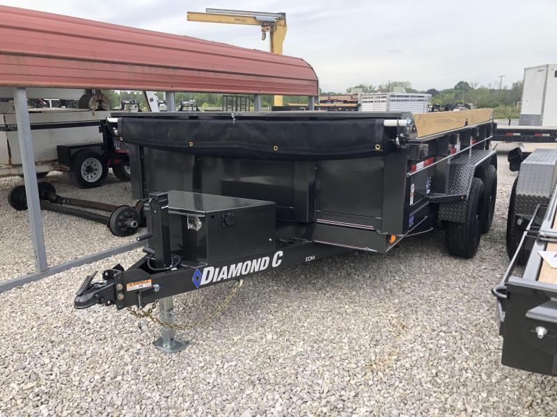 2019 82x12 Diamond C Trailers EDM252 Dump Trailer