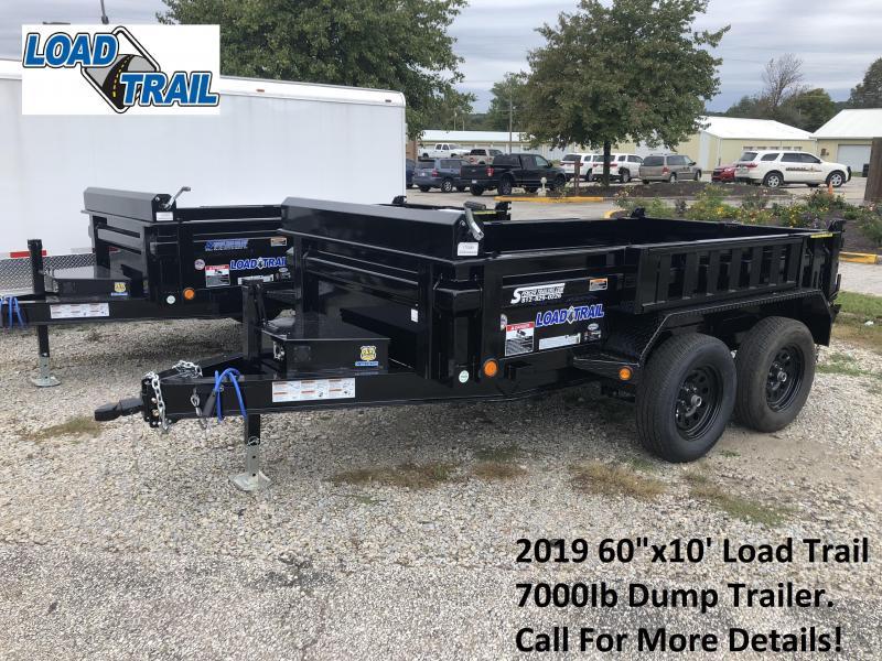 "2019 60""x10' 7K Load Trail Dump Trailer. 75049"