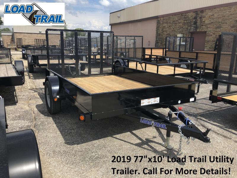 "2019 77""x10' Load Trail Utility Trailer. 70674"