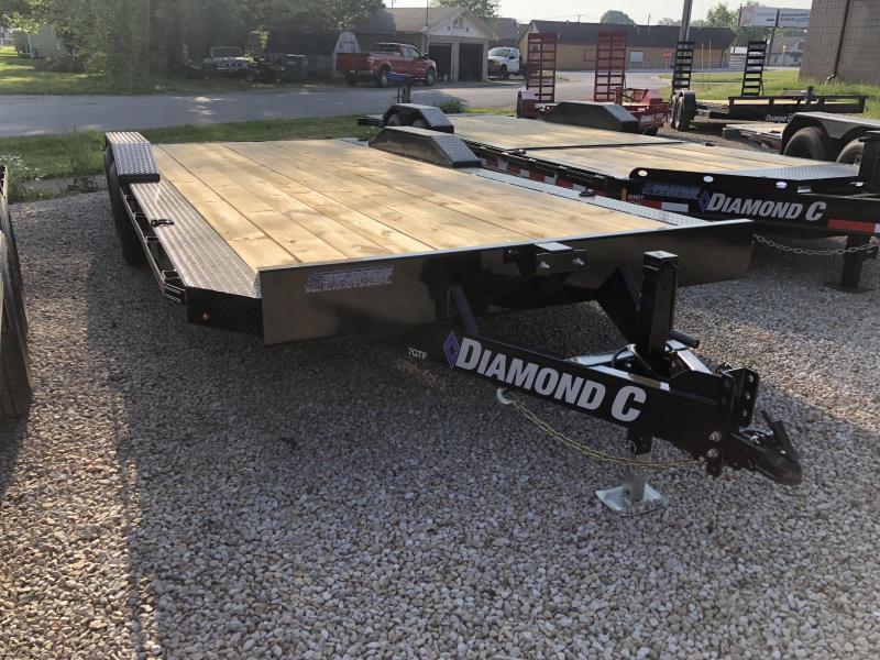 "2018 18'+2'x102"" 10k Diamond C Equipment Trailer. 00891"