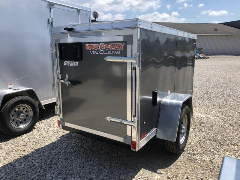 2019 4x8 Discovery Enclosed Cargo Trailer. 2521