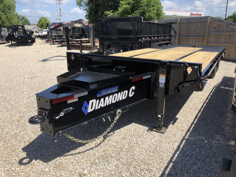 2018 20+5x102 25K Diamond C Pintle Equipment Trailer. 3047