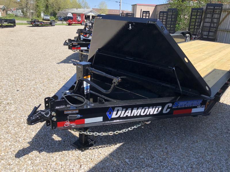 2018 20+2 14900lb GVWR Diamond C Low-Pro Equipment Trailer. 00280