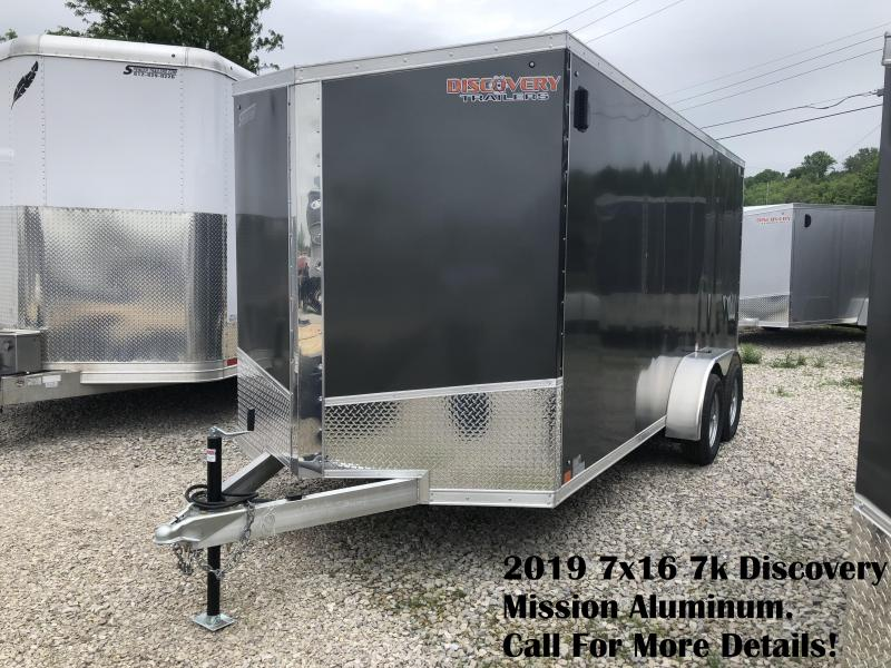 2019 7x16 7k Discovery Mission Aluminum. 2383