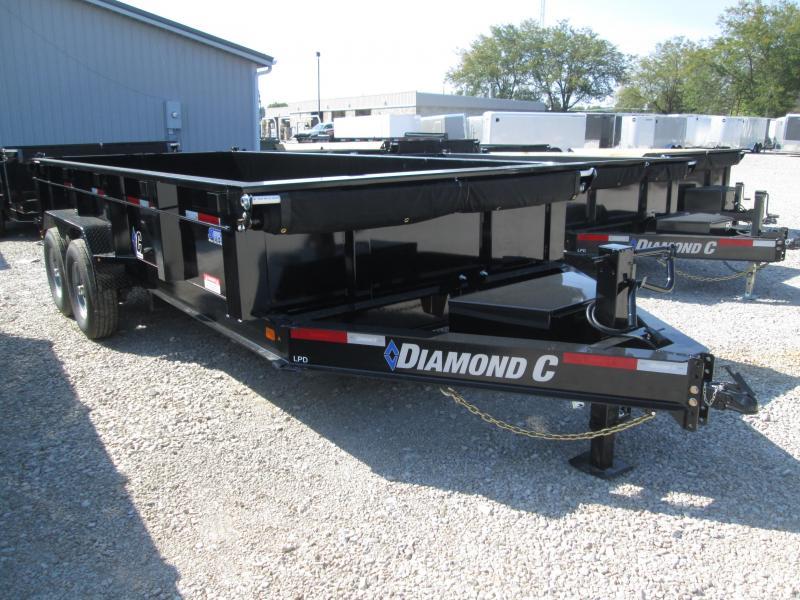 2020 16x82 14.9K Diamond C Dump Trailer. 18774