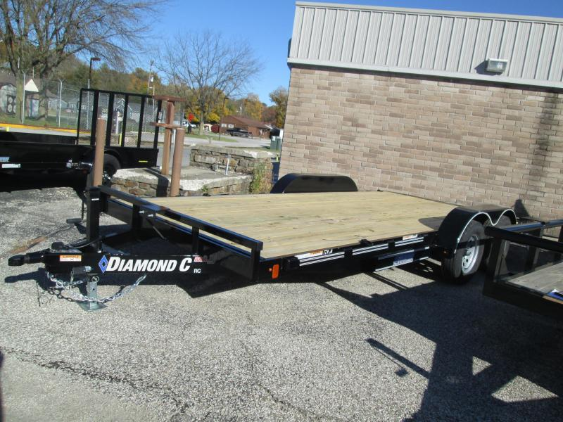 2019 16+2x83 7K Diamond C Car Trailer. 7248