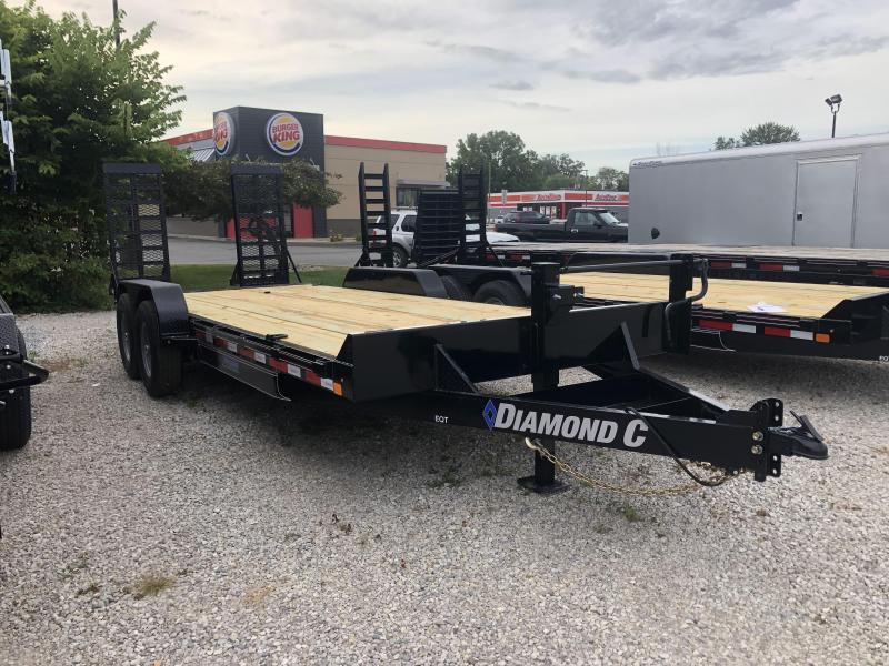 2019 Diamond C Trailers EQT207 Equipment Trailer