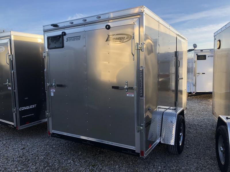 2019 6x10 Formula Enclosed Trailer. 00811