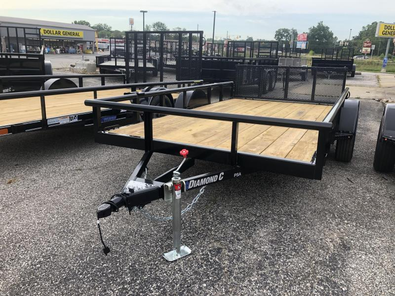 "2019 12""x77"" Diamond C Utility Trailer. 18534"