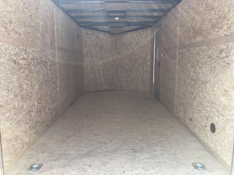 2019 7x14 7K Discovery Enclosed Trailer. 3129