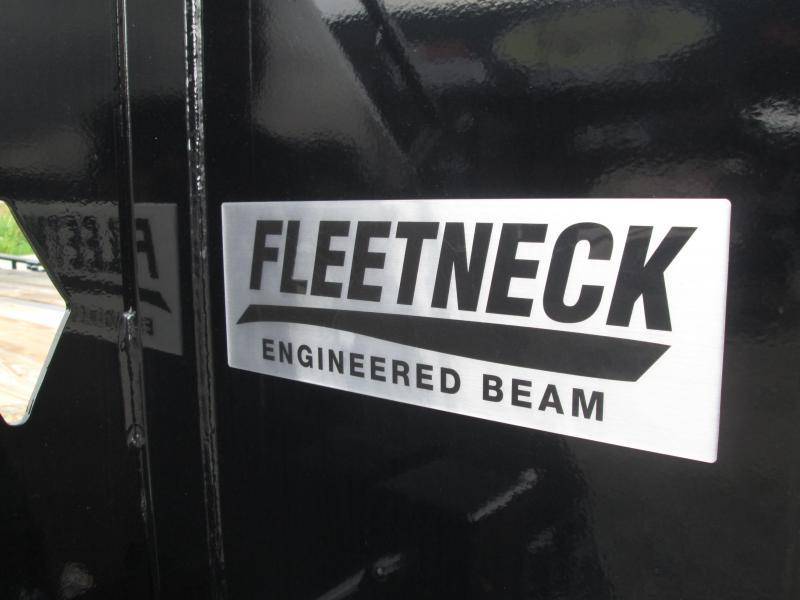 """2019 20'+12'x102"""" 25K Diamond C Engineer Beam Equipment Trailer. 10303"""