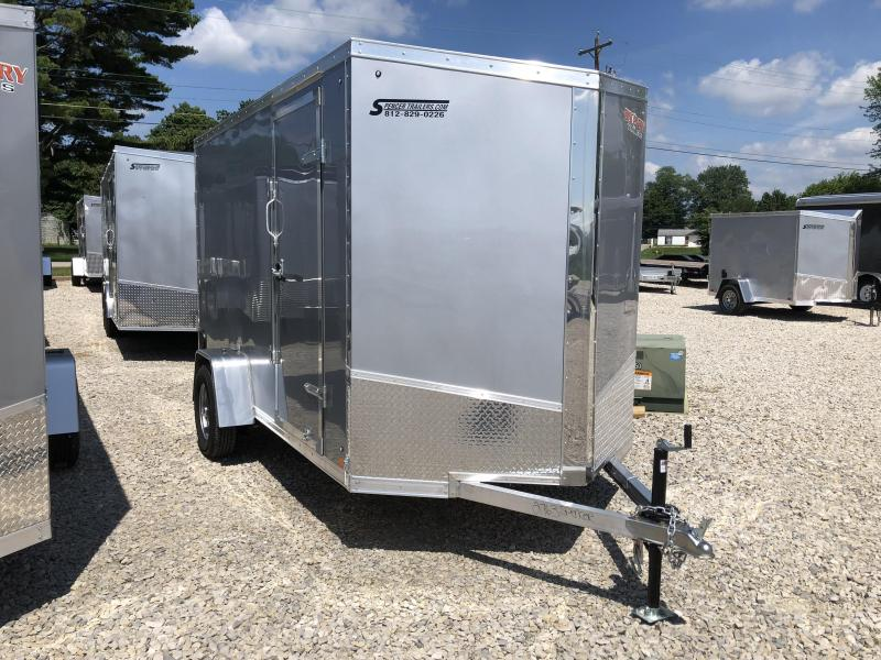 2018 6x12 Discovery Enclosed Cargo Trailer. 2763