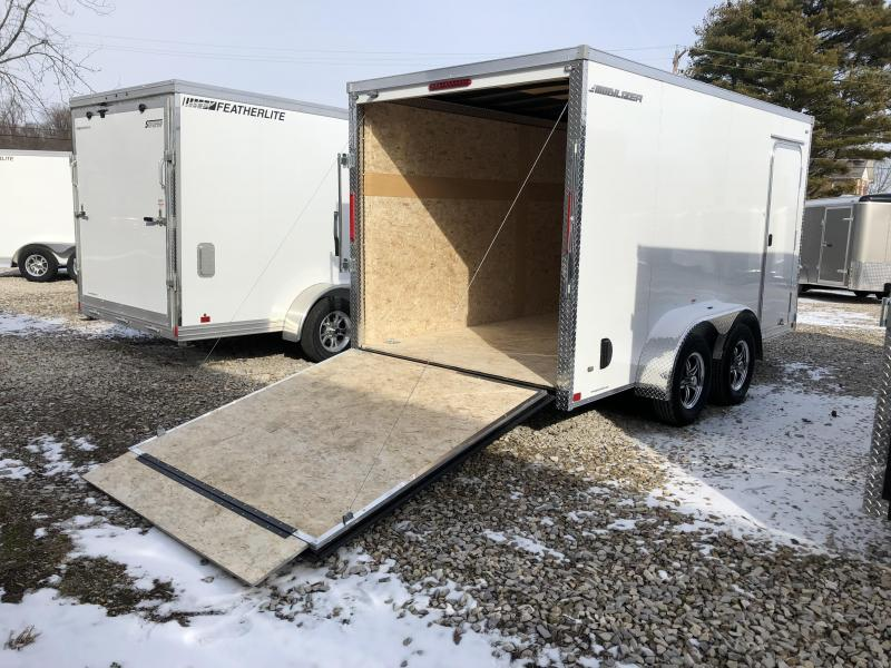 2018 MVM7 7x14 7k Enclosed Cargo Trailer. 1258 (white)