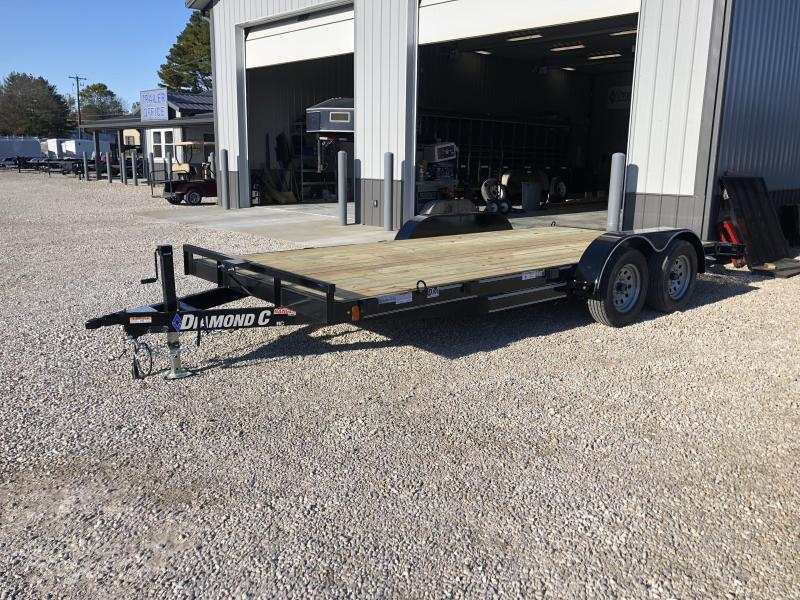 2019 16+2 7K Diamond C Car Trailer. 7247