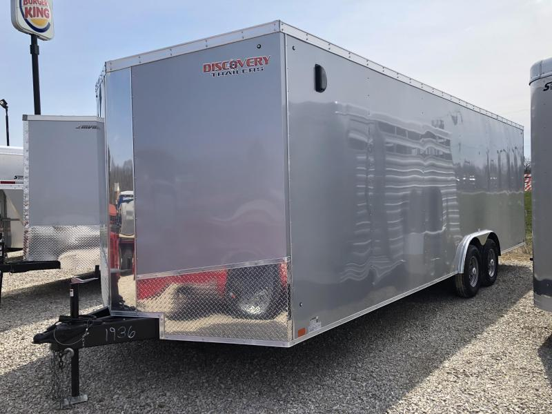 2019 8.5'x24' 10k Discovery Enclosed Trailer. 1936