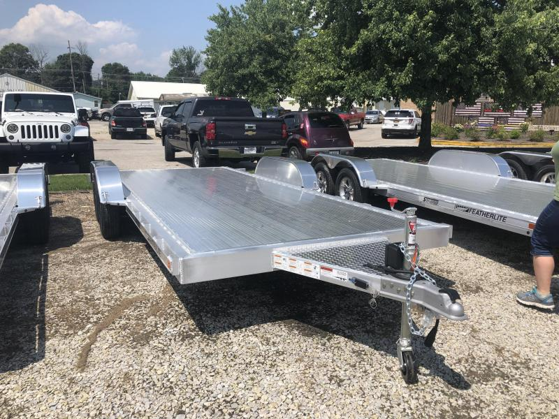 2019 18' 7k Featherlite Car Trailer. 152200