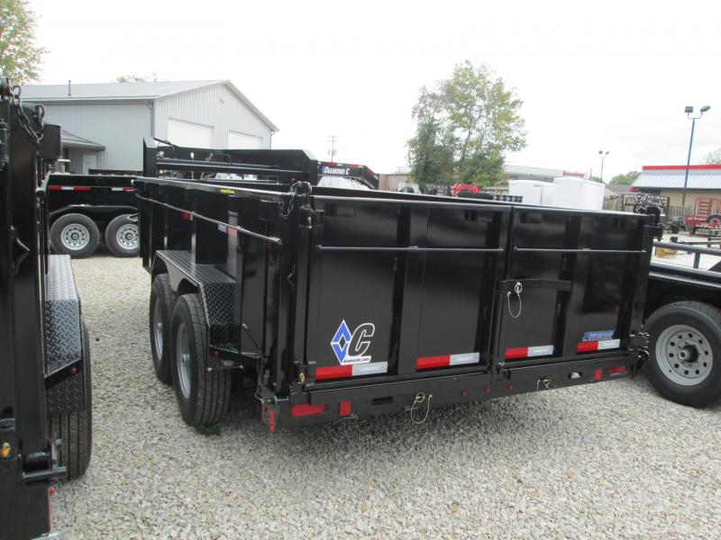 "2019 14'x82"" 14.9K Diamond C GN Dump Trailer. 5867"