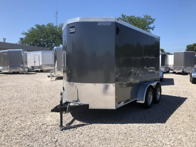 2019 6x12 Wells Cargo RFV612 Enclosed Cargo Trailer