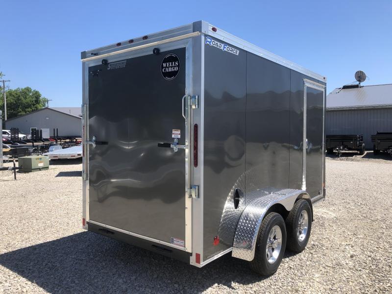 2019 6x12 Wells Cargo RFV612 Enclosed Cargo Trailer