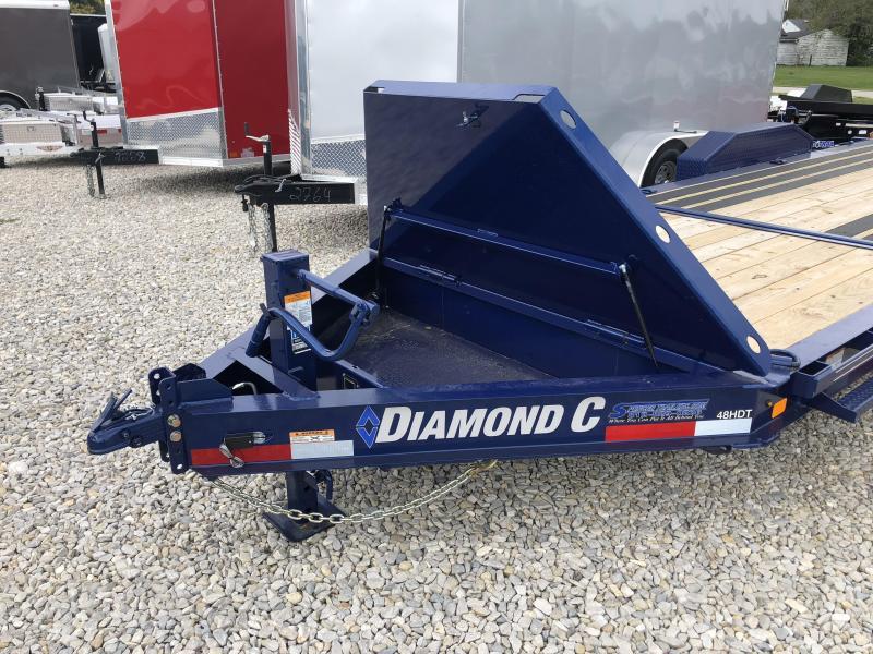 2018 16+6 14900lb. GVWR Diamond C Equipment Tilt. 04386