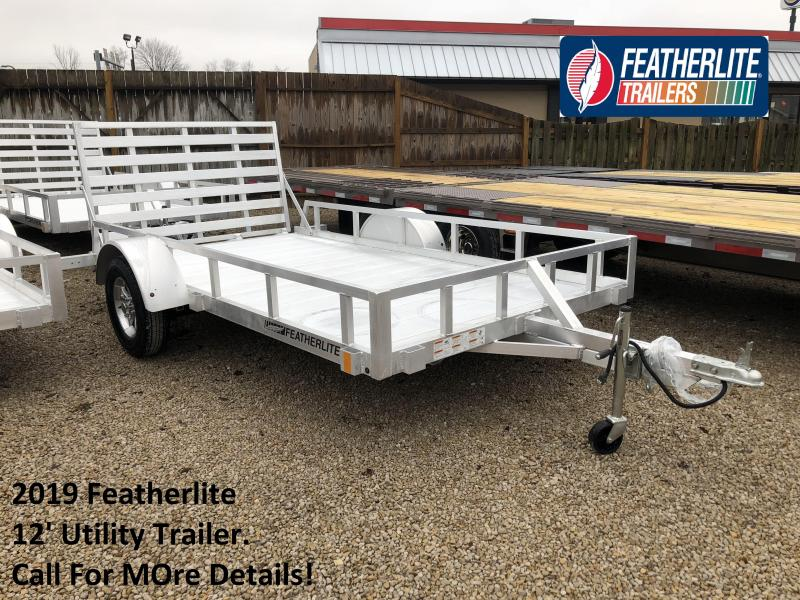 2019 12' Featherlite Utility Trailer. 150616