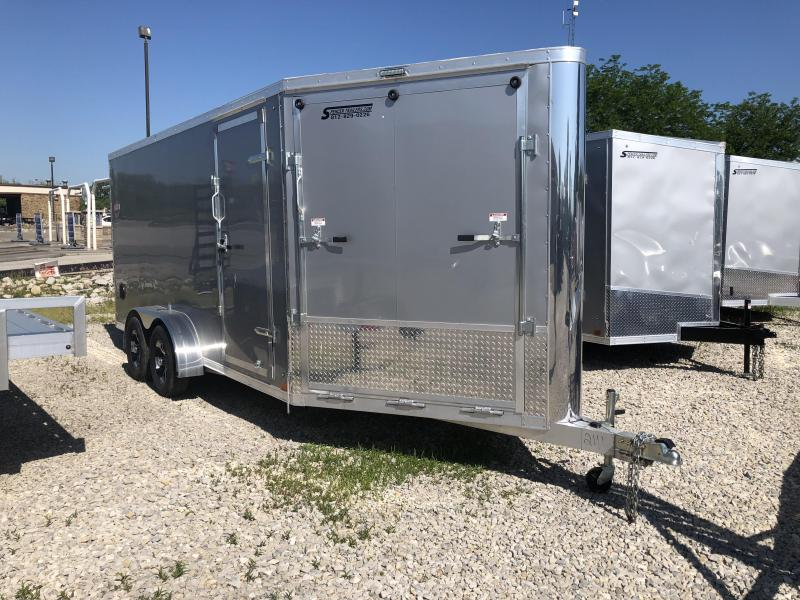 2019 7'x21' Discovery Enclosed Cargo Trailer. 2111