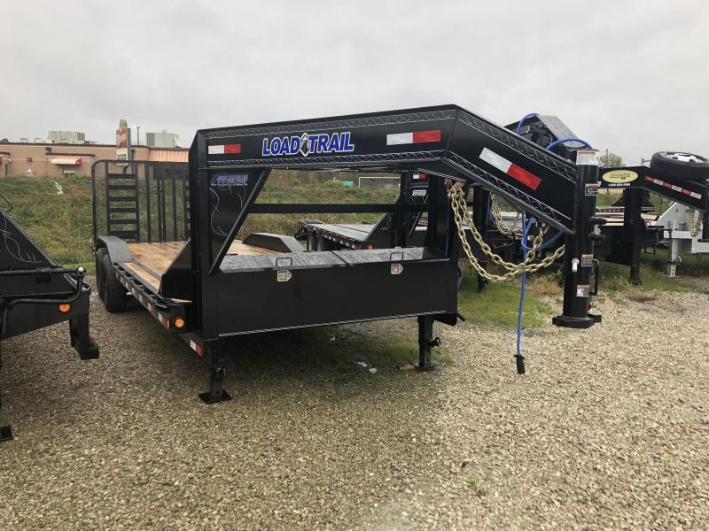 2019 22+2x102 14K Load Trail GN Equipment Trailer. 74092