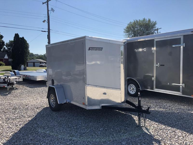 2019 5'x8' Discovery Enclosed Cargo Trailer. 2515