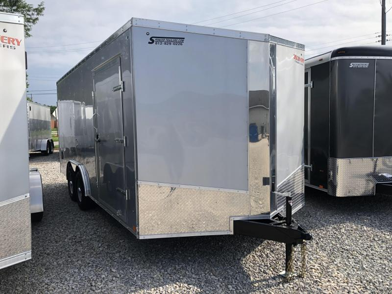 2018 8.5'x18' 10k Discovery Enclosed Trailer. 2621