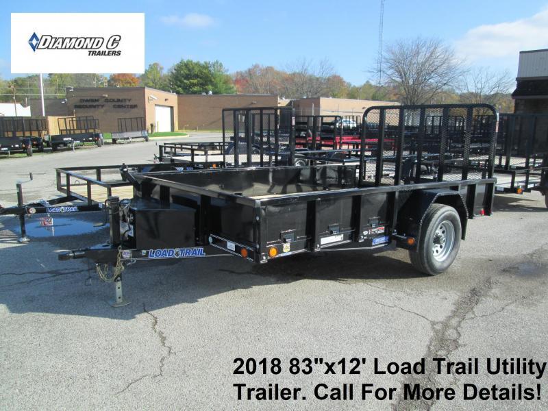 "2018 83"" x 12' Load Trail 5.2K Utility Trailer. 49471"
