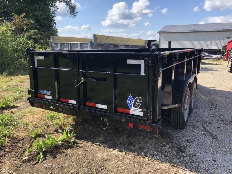 "2019 82""x16' 14900lb GVWR Diamond C Heavy Duty Low-Pro Dump with 32"" sides. 05338"
