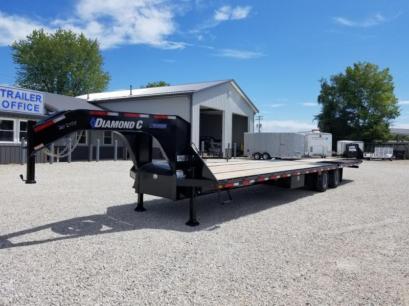 2018 Diamond C Trailers FMAX 212 Equipment Trailer