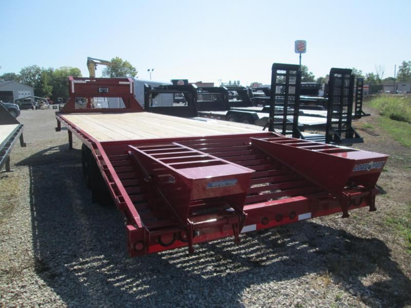 2017 20'+5' 14k GVWR Load Trail GN Equipment Trailer. 44347
