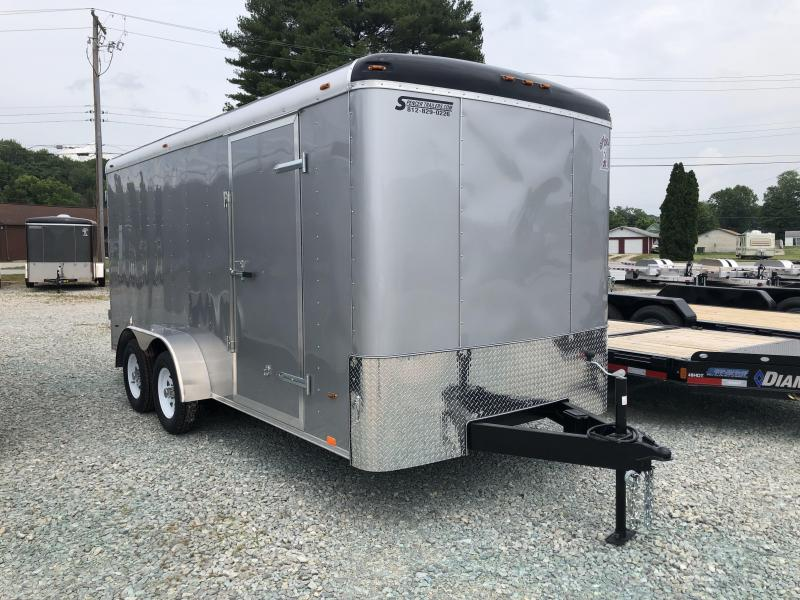 2018 7'x16' 7k Atlas Enclosed Trailer. 40678