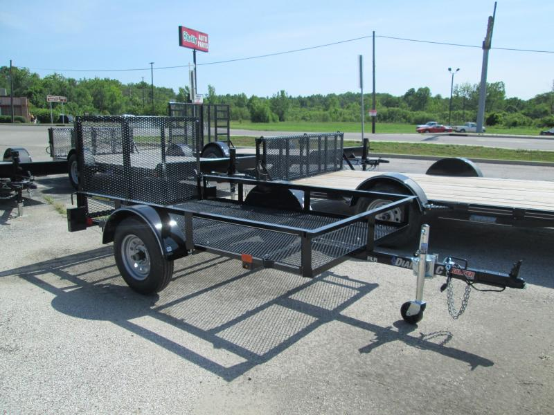 2018 60x8 Diamond C Ranger Utility Trailer. 00937
