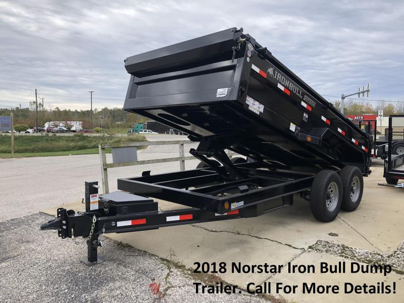 2018 Norstar Iron Bull Dump Trailer. 25425