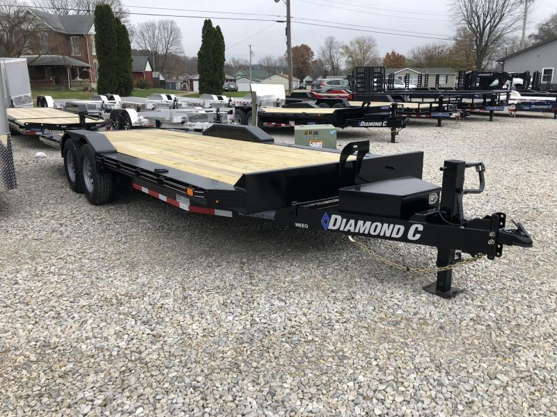 2019 22x102 14.9K Diamond C Equipment Trailer. 6902