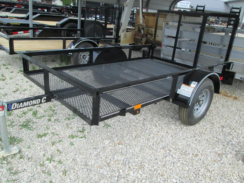 2019 5' x 8' Diamond C Single Axle Utility Trailer. 05593