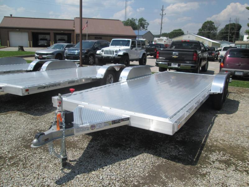 2019 18' 7K Featherlite Car Trailer. 152197