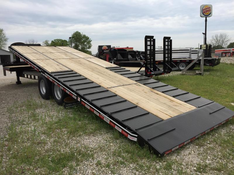 2018 Econoline 25'+5' 25.5k GN Equipment Trailer. 458