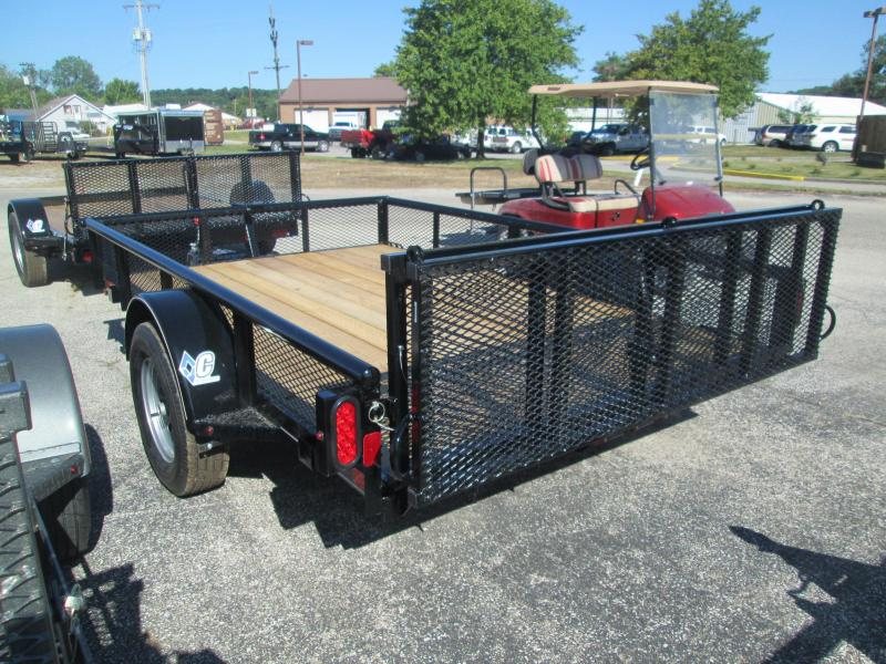 "2017 77""x10' Diamond C Utility Trailer. 91334"