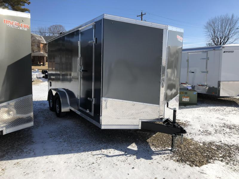 2019 7x16 7k Discovery Enclosed Trailer. 1953