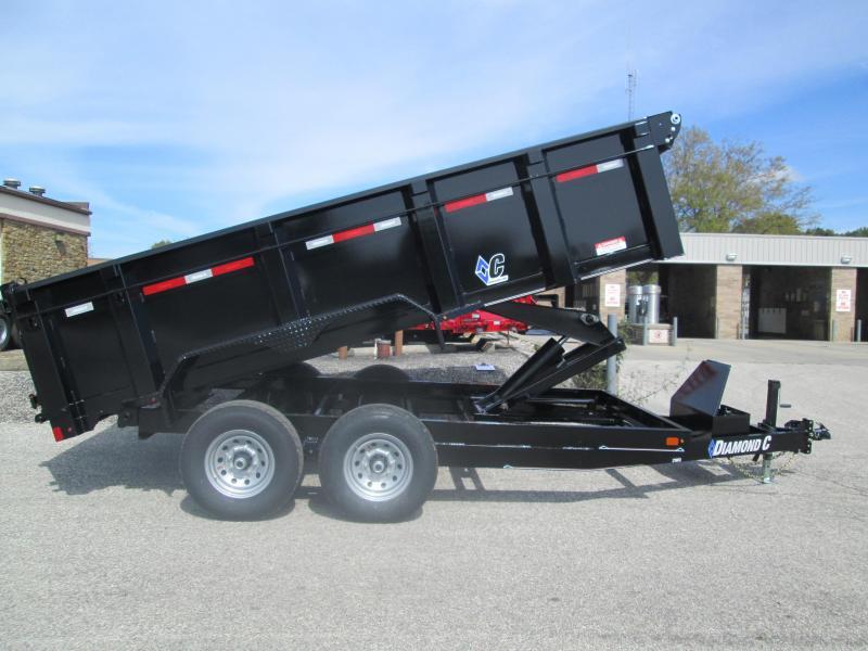"2019 82""x14' 14900lb. GVWR Diamond C Heavy Duty Dump. 05868"