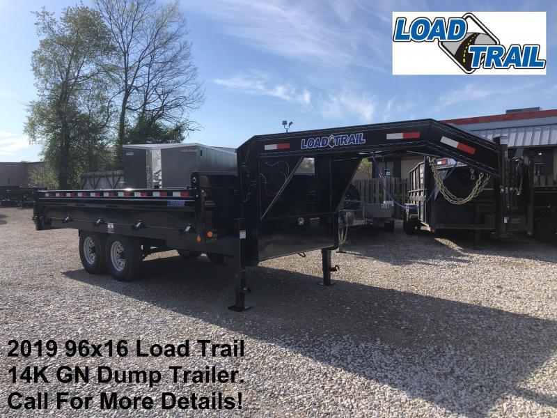 "2019 96""x16' 14K Load Trail Dump Trailer. 85772"