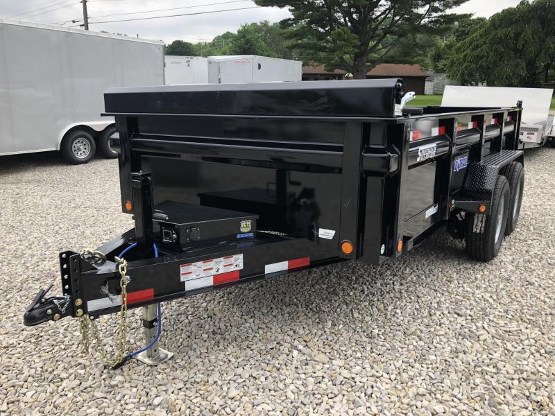 "2018 83""x14' 14k Load Trail Dump Trailer. 65416"
