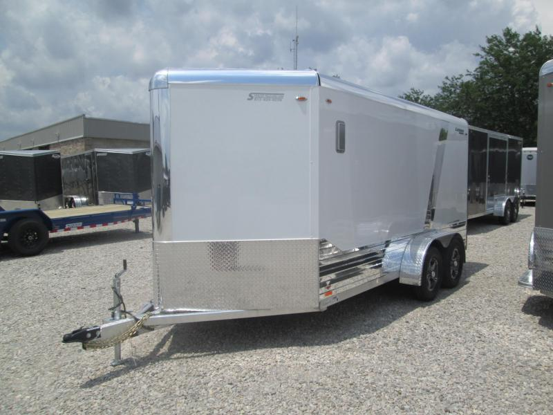2019 7x17 Legend Deluxe V-nose Enclosed Cargo Trailer