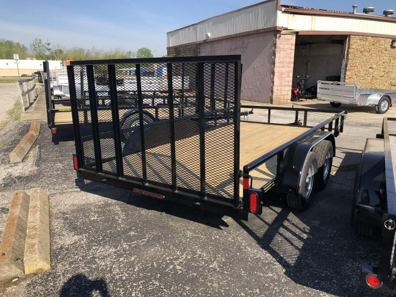 "2018 14'x83"" 7k Diamond C Utility Trailer. 01215"