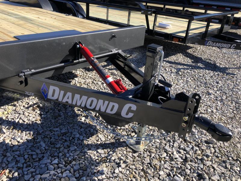 2019 20' 10k Diamond C Flatbed Equipment Manual Tilt. 08402