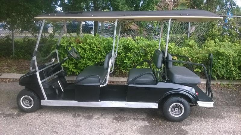 1996 Club Car Villager 6 passenger Golf Cart