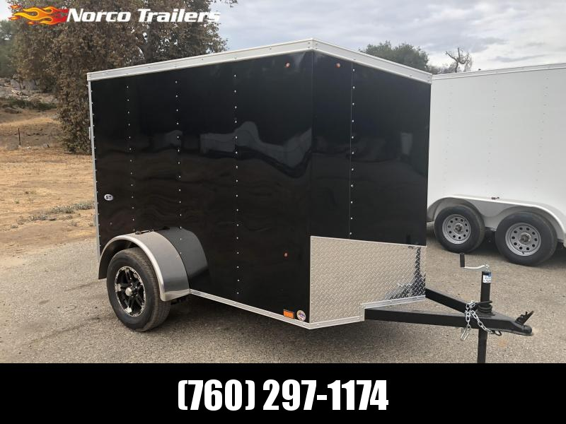 2019 Look Trailers Vnose STVLC 5' x 8' Enclosed Cargo Trailer